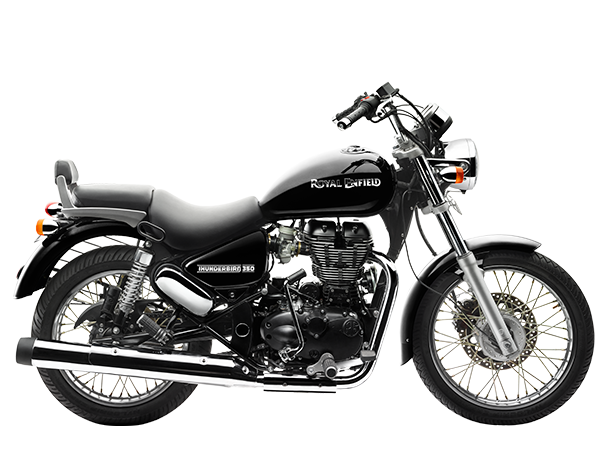 Roverz motors showroom for royal enfield black thunderbird 350